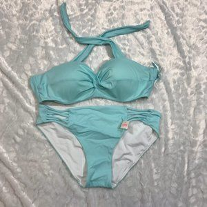 Victoria's Secret swim bikini bandeau top set Lrg